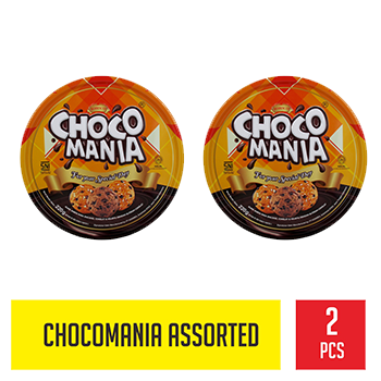 Promo CHOCOMANIA ASSORTED CHIP COOKIES 1+1