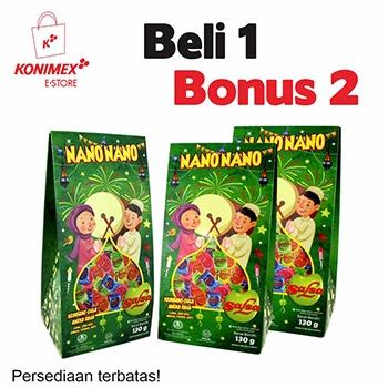 Promo Nano Salsa Giftpack 1 Bonus 2