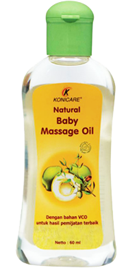 KONICARE NATURAL BABY MASSAGE OIL