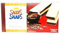 SNIPS SNAPS WAFER CHOCOLATE