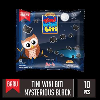 TINI WINI BITI Mysterious Black (dijual per 10 sak)