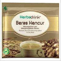HERBADRINK BERAS KENCUR