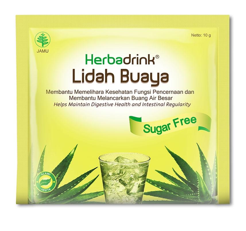 HERBADRINK LIDAH BUAYA SUGAR FREE