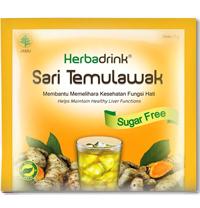 HERBADRINK SARI TEMULAWAK SUGAR FREE